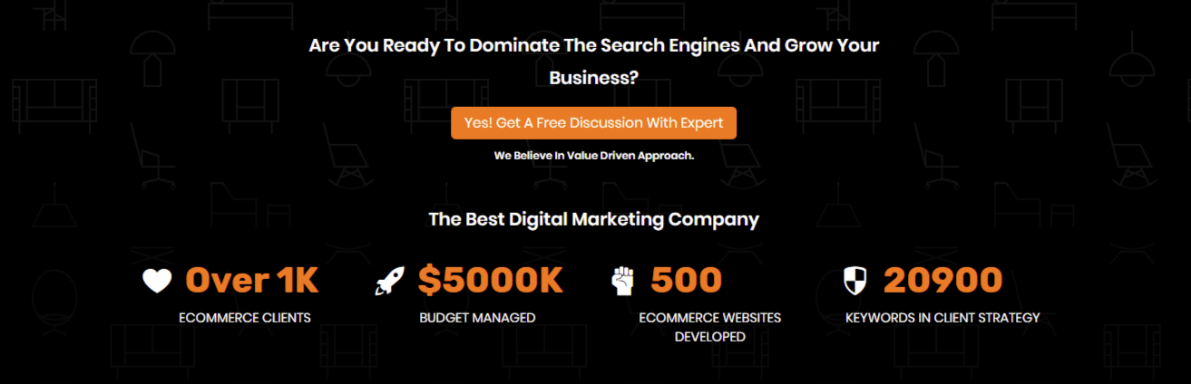 Call Of Action 2 for SEO Company
